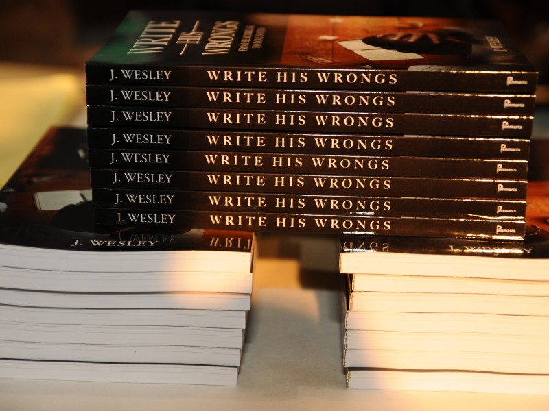 Write His Wrongs Book Release 100